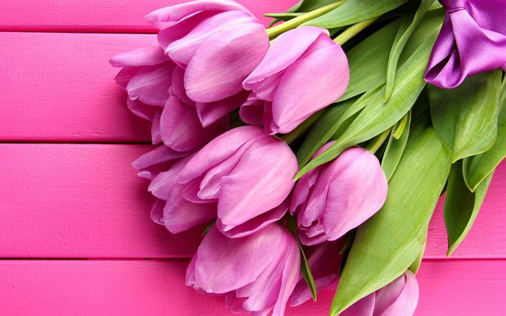 Калина розовые цветы