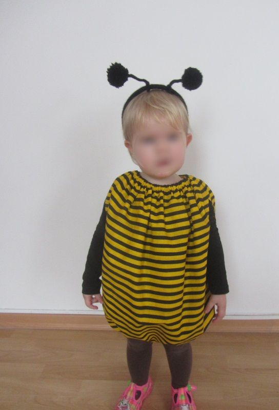 Biene Kostüm Honigbiene Kinderkostüm Cartoon Kinder Bienen Mädchenkostüm Bee