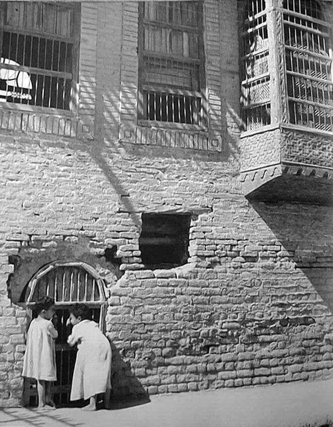 احدى حارات بغداد القديمة Baghdad Iraq Old Photos Arab Culture