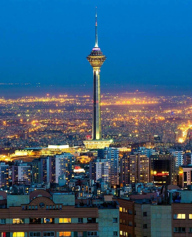 Milad Tower ⚫ Tehran ⚫ Iran ⚫