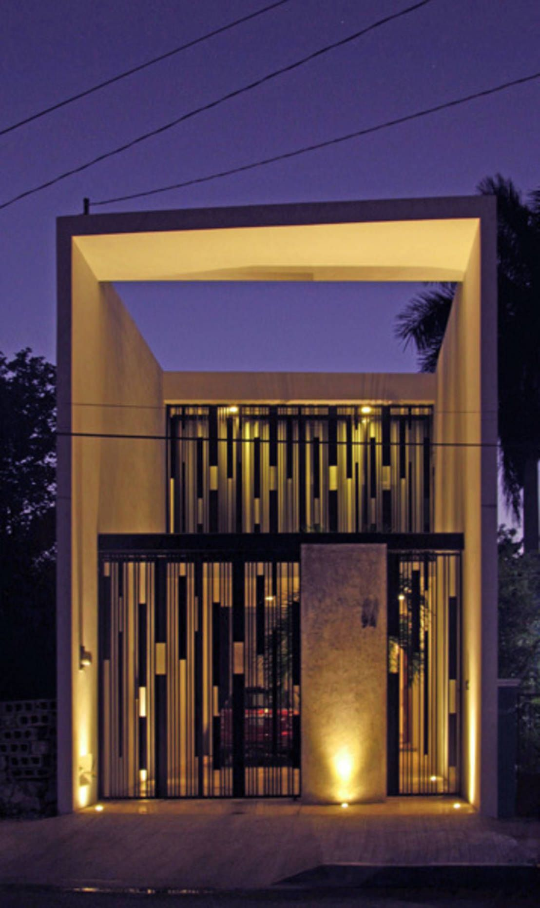 Casas peque as 8 fachadas sensacionales fachadas for Viviendas minimalistas pequenas