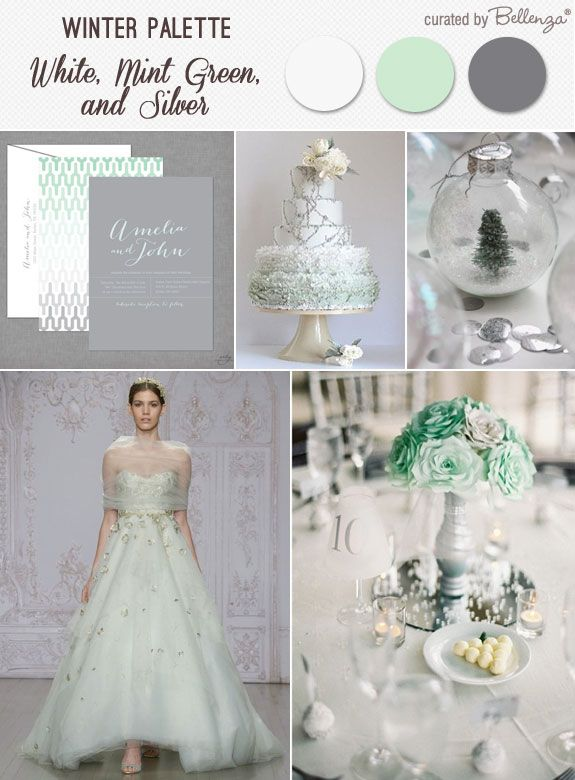mint green wedding decorations mint green silver and white for a magical winter wedding 5954