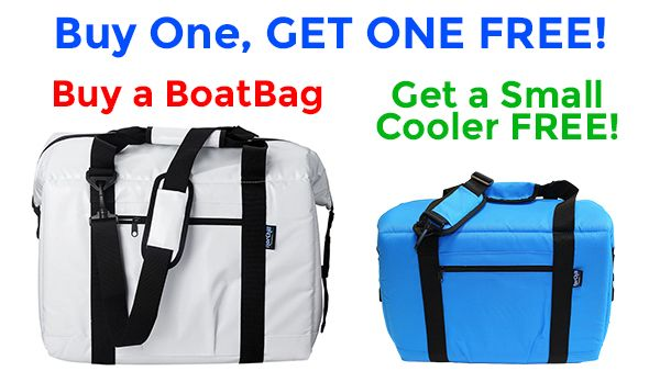 Business Stuff: Now Until July 31st - Buy One Get One Free Sale on Marine BoatBags and Small Cooler Bags