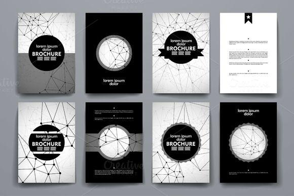 black brochure template juve cenitdelacabrera co