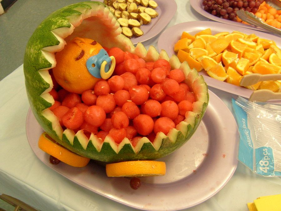 watermelon baby carriage baby shower ideas pinterest watermelon