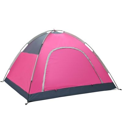 Easy up Portable C&ing Family Tent 3-Person 3-Season Anti-UV Dome  sc 1 st  Pinterest & Easy up Portable Camping Family Tent 3-Person 3-Season Anti-UV ...