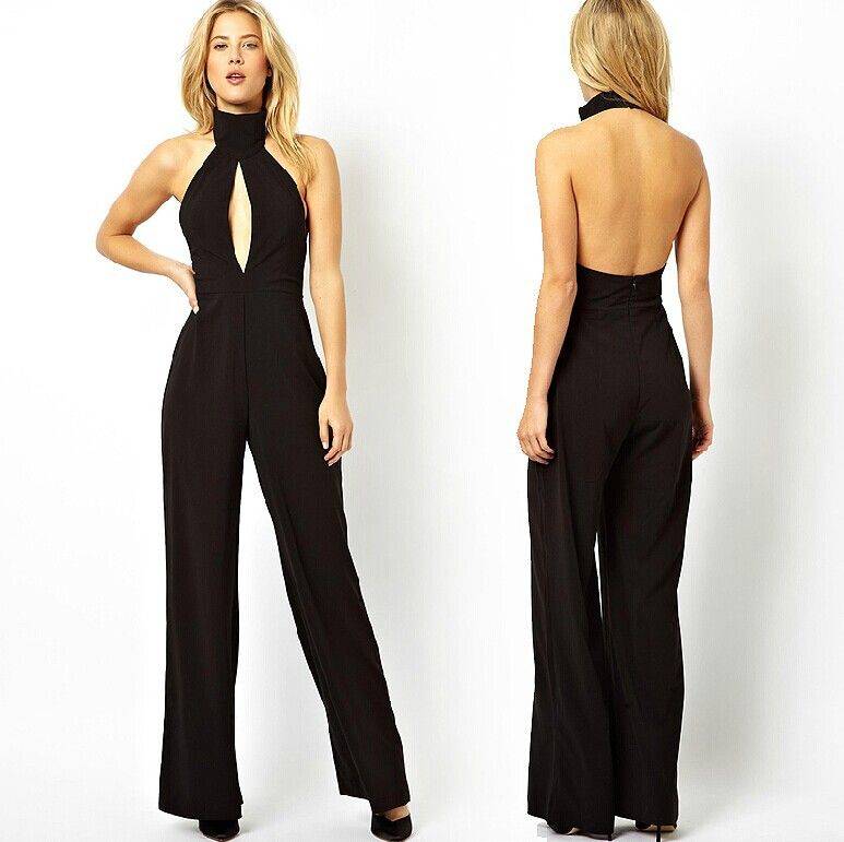 Luxury Elegant Black Jumpsuit For Women  Elegant Jumpsuits Related Keywords