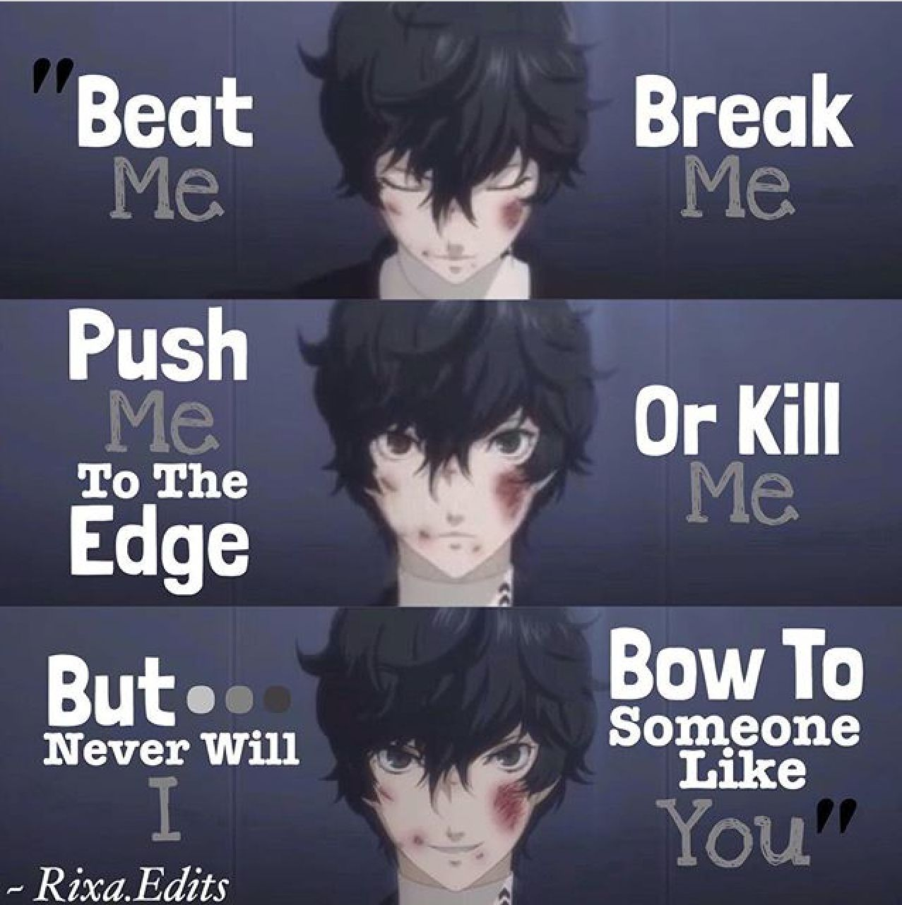 Persona 5 If It Pleases You I Would Actually Quotes Persona 5
