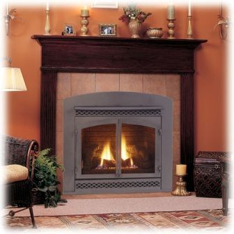 Fireplace- maybe put tile or stone between the wood and the fireplace instead of the stupid design that is there- then keep the mantle