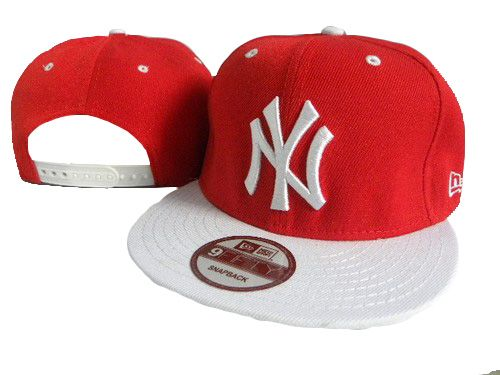 New Era MLB New York Yankees Caps Red White 3690! Only  7.90USD ... 632d745a59d