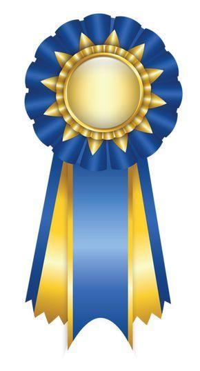 Blue Rosette Ribbon Png Clipart Picture Ribbon Png Blue Ribbon Image Ribbon Design