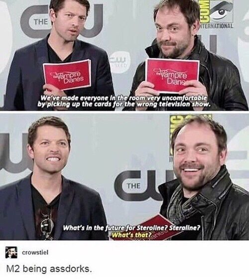supernatural, funny, and misha collins afbeelding #mishacollins