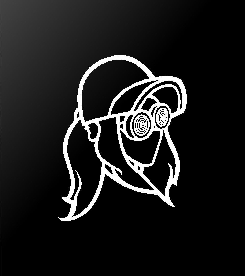 Rezz edm dj vinyl decal car window laptop sticker