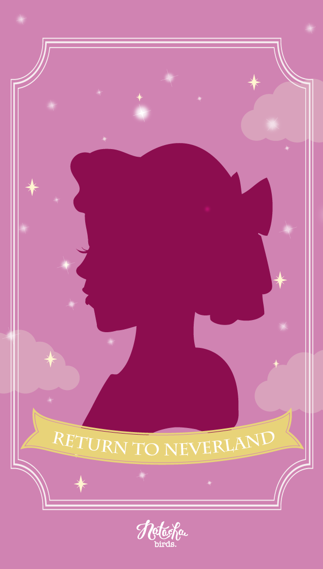 Wallpapers pour vos téléphones : Peter & Wendy | Disney princess wallpaper, Disney art, Disney ...