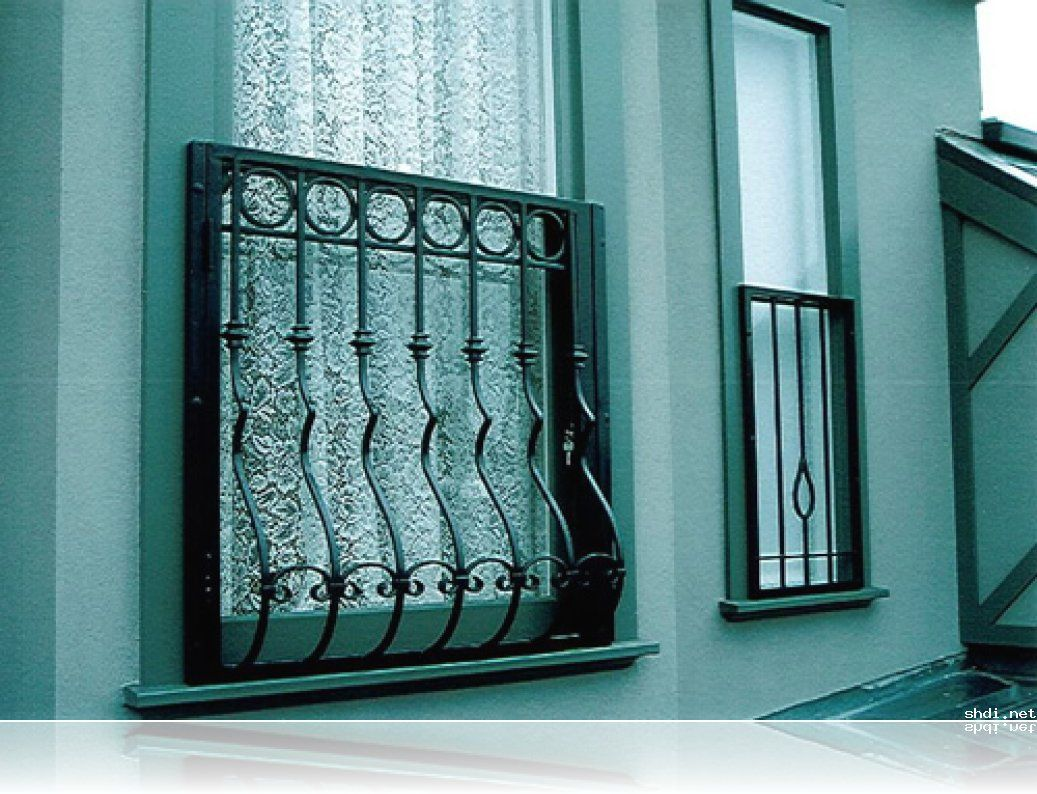 Residential window grills google search ideas for the for Door and window design