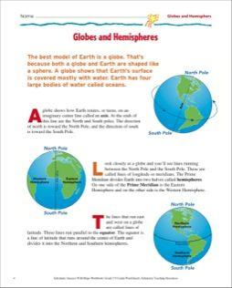 Homework help hemispheres globe graphics