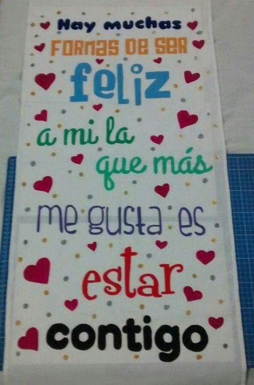 Resultado de imagen de carteles de amor hechos a mano