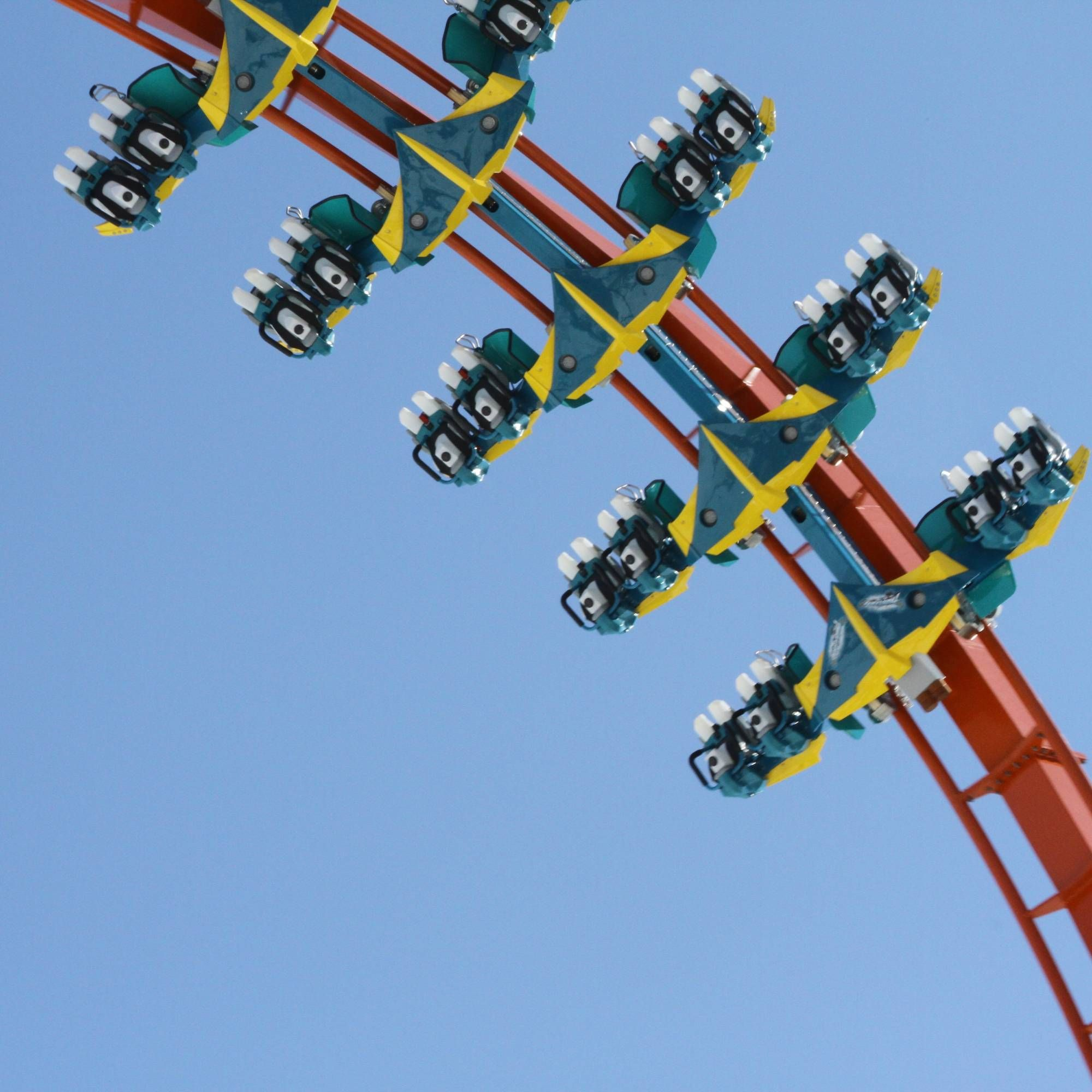 Visit Holiday World in the summer and ride Thunderbird (14 ...