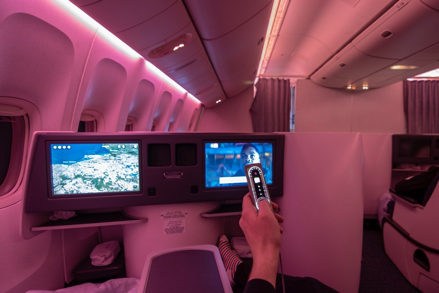 Review Air China Boeing 777 Business Class nach Peking