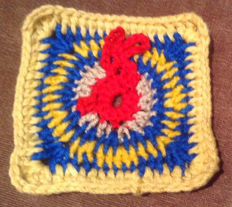 Tutorial Bunte Granny Square Decke Crochet Granny squares