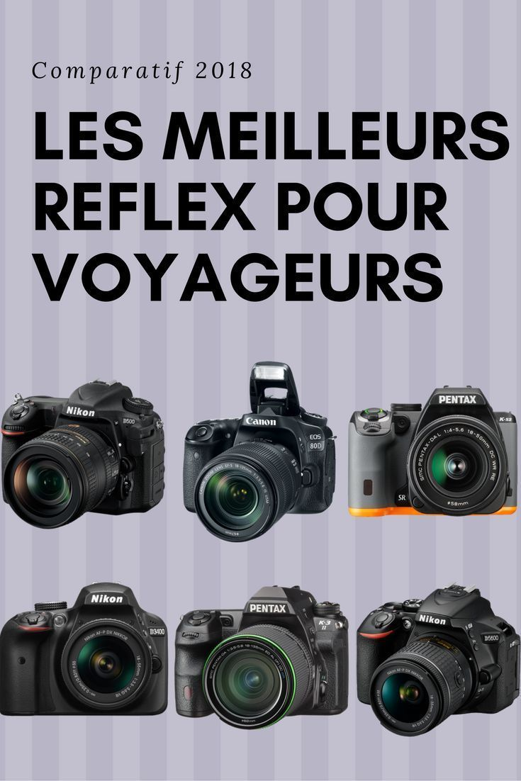 Meilleurs appareil photo Reflex 2019 : le comparatif complet