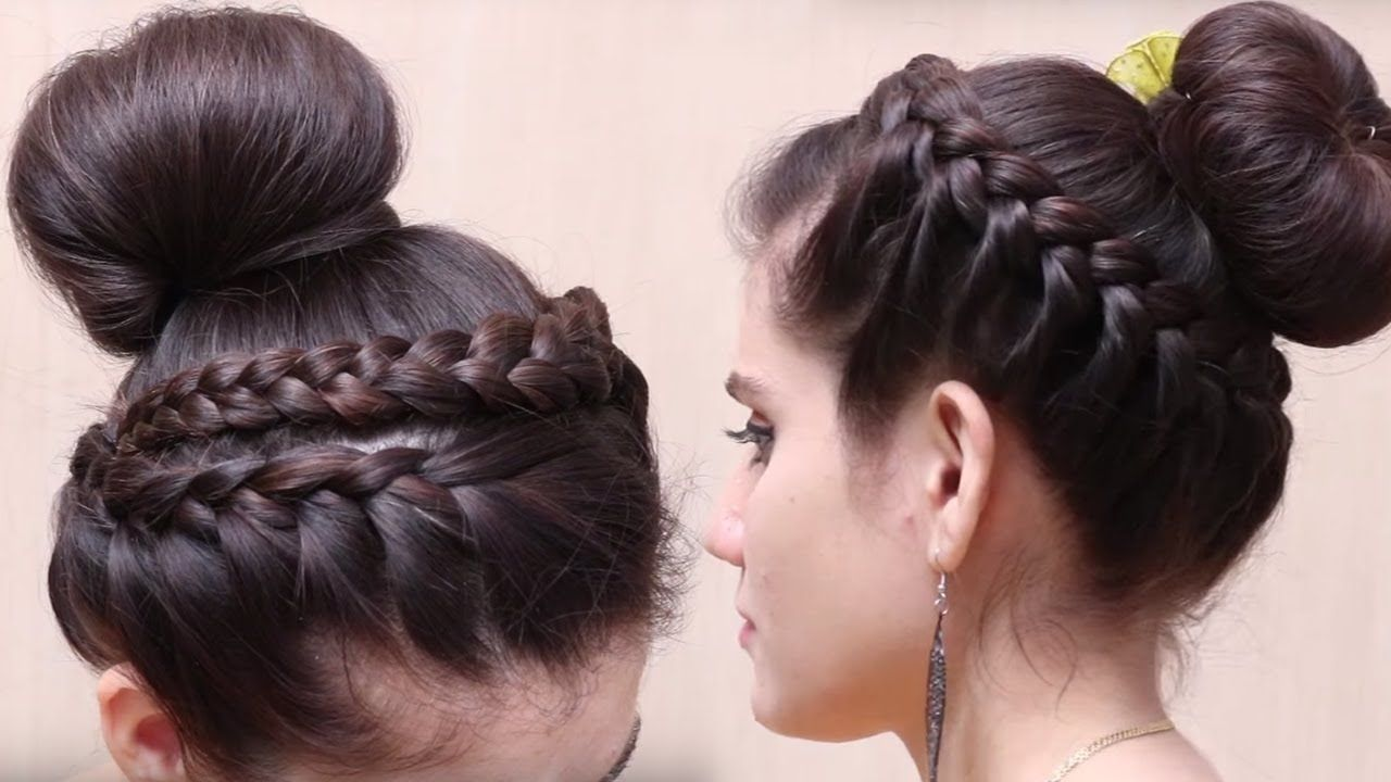 Easy Bubble Bun Hairstyles For Long Hair Quick Hairstyles For Long Hair Bun Hairstyles For Long Hair Quick Hairstyles Long Hair Styles