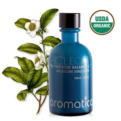 Aromatica Tea Tree Rose Balance Moisture Emulsion By Aromatica Moisturizer Rose Trees Tea Tree
