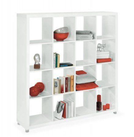 Regal Raumteiler weiß Extrem Amazonde Küche \ Haushalt Ideen - regale für die küche