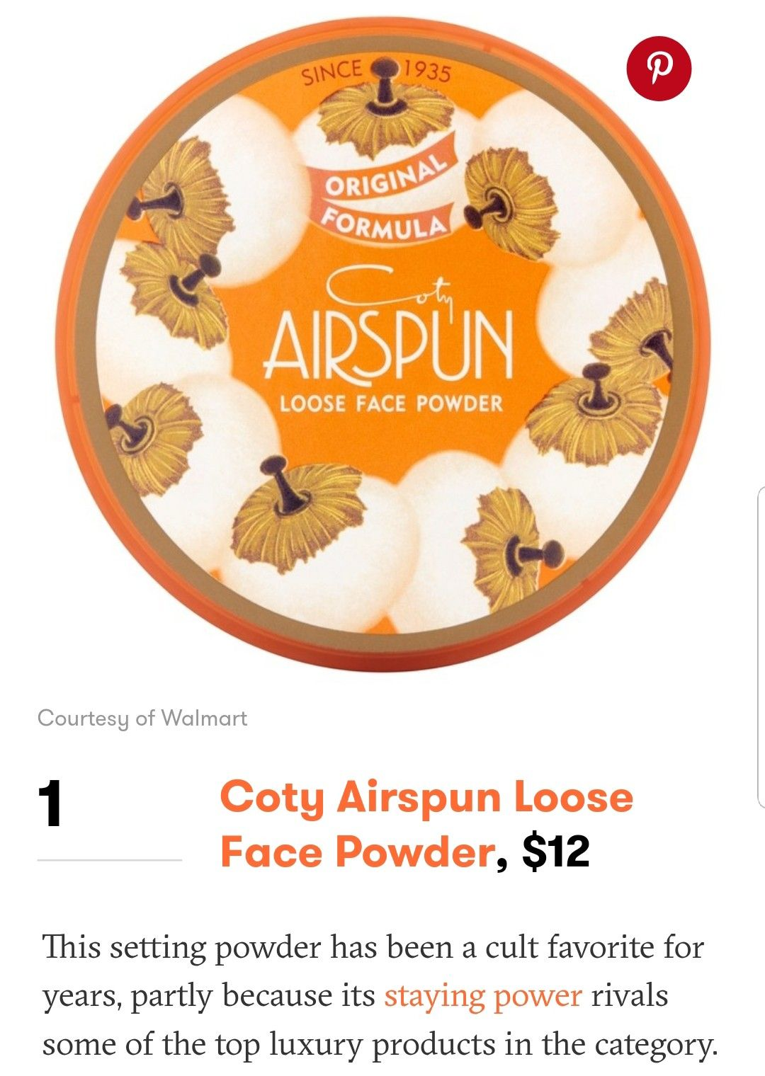 Pin by itslyssaleigh on makeups. Face powder, Coty