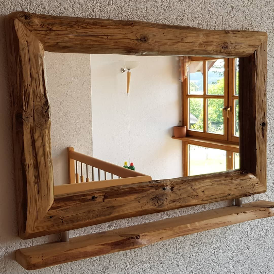 Dieser Spiegel Schmuckt Jetzt Ein Neues Badezimmer Spiegel Verschonern Nachhaltig Widerverwerten Altebalken Neues Badezimmer Spiegel Schmucken Badezimmer