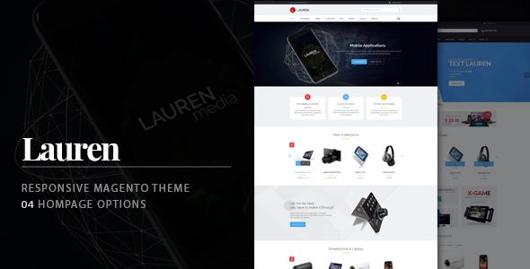 Lauren - Technology Responsive Magento Theme (Technology) - http ...