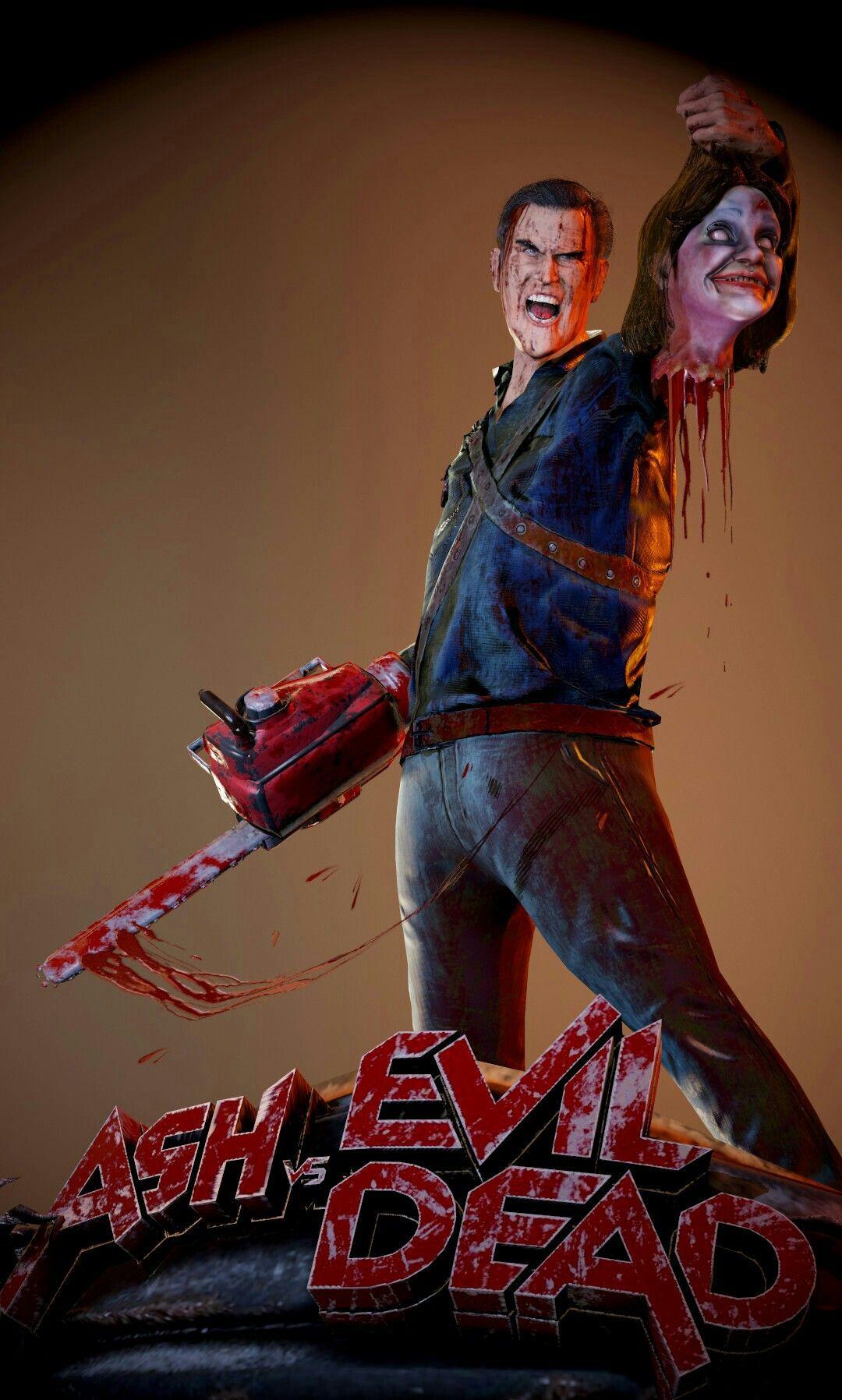Ash V Evil Dead Evil Dead Movies Horror Movies Memes Horror Movie Art