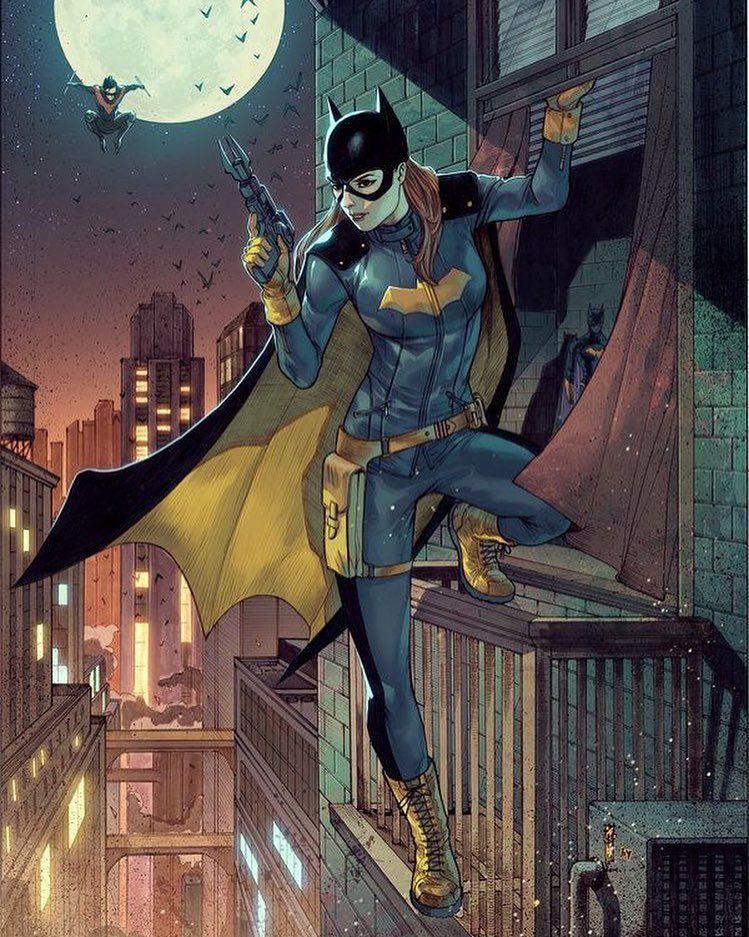 Artist Unknown Dc Comics Art Batgirl Nightwing