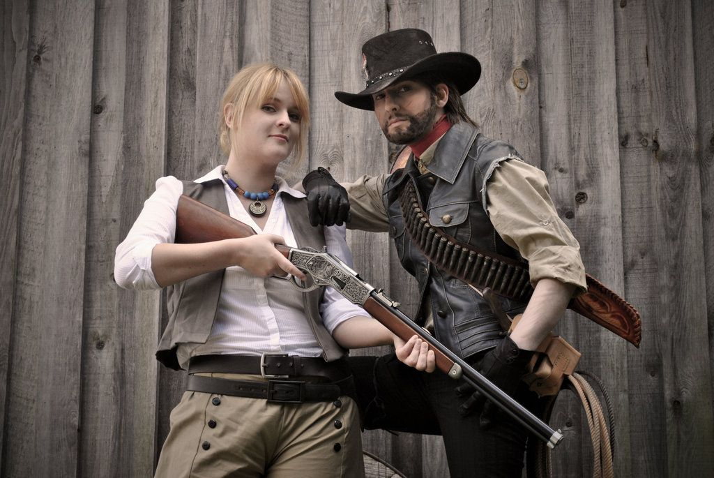 Red Dead Redemption Bonnie And John By Pumkin Portfolio