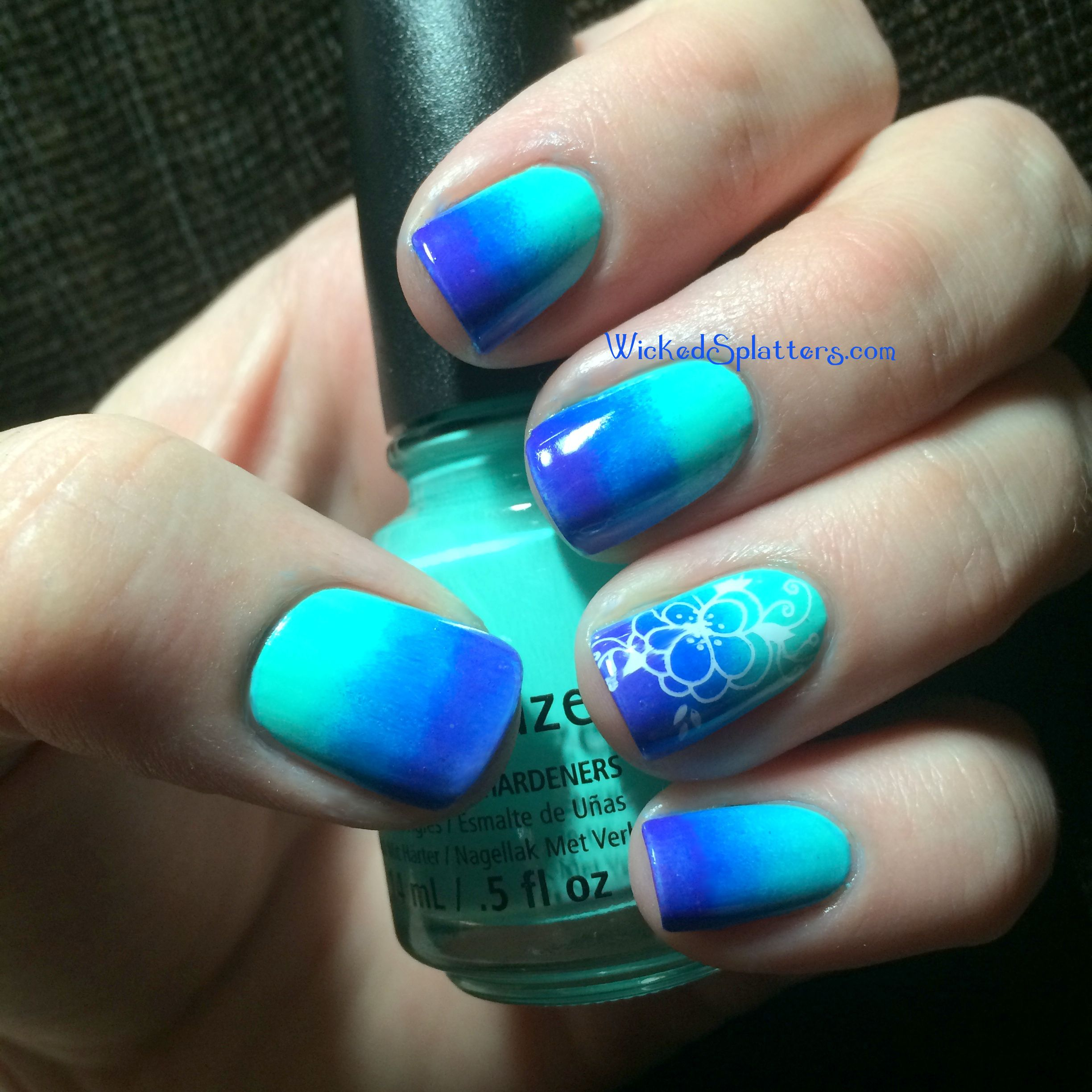 teal ombre nails | displaying 17> images for - ombre nails purple