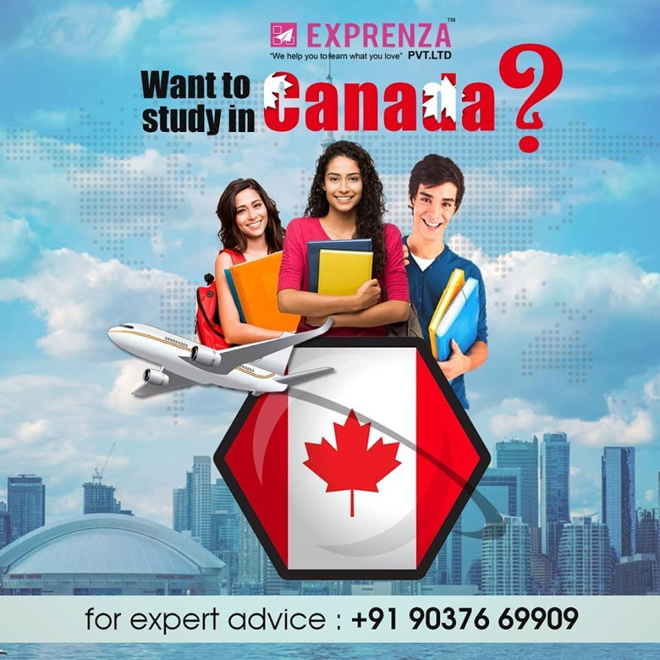 Canada Recruitment Agencies In Kochi Exprenza Pvt Ltd In 2020 Study Abroad Scholarships Study Abroad Study