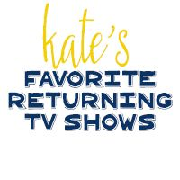 Kate's Favorite Returning Fall TV Shows 2014 If you like this then head over here to see more! http://www.tastykitchenideas.com/2014/09/04/kates-favorite-returning-fall-tv-shows-2014/