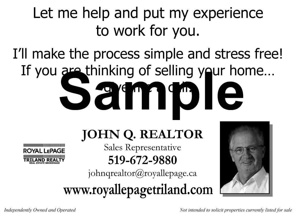 Royal lepage triland realty sample card royal lepage triland provided by royal lepage triland realty brokerage london and st reheart Gallery