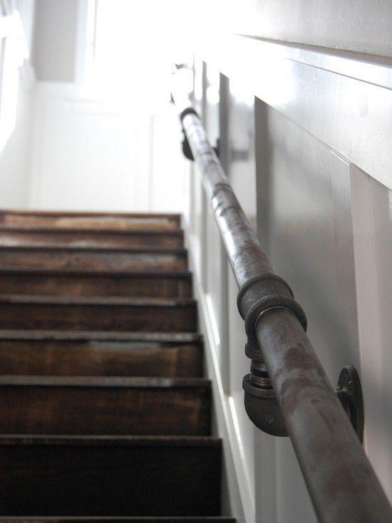 Basement Stairwell Ledge