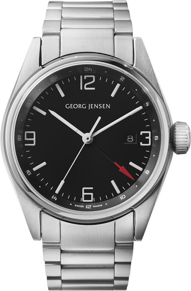 Georg Jensen Watch Delta Classic #basel-15 #bezel-fixed #case-depth-12mm #case-material-steel #case-width-42mm #date-yes #delivery-timescale-call-us #dial-colour-black #gender-mens #gmt-yes #luxury #movement-quartz-battery #new-product-yes #official-stockist-for-georg-jensen-watches #packaging-georg-jensen-watch-packaging #style-dress #subcat-delta #subcat-georg-jensen-gmt #supplier-model-no-3575597 #warranty-georg-jensen-official-2-year-guarantee #water-resistant-100m