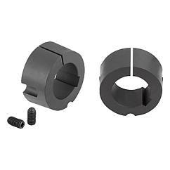 Brides d'arrêt Taper : permettent un montage et un démontage facile et très rapide des rondelles // Taper clamping bushes // REF 23200