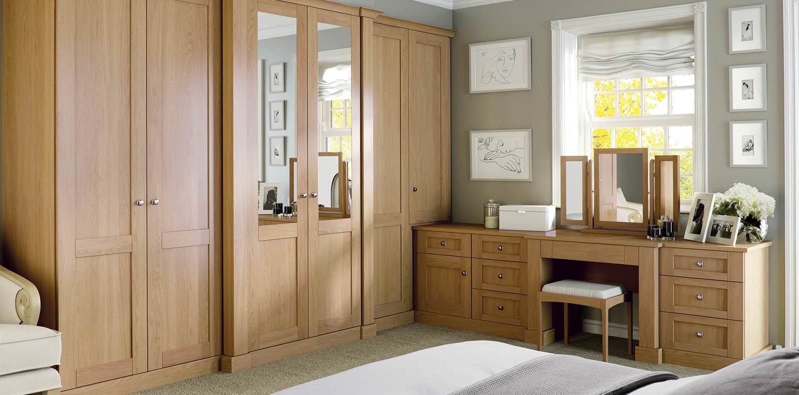100 Wooden Bedroom Wardrobe Design Ideas (WITH PICTURES) | WARDROBES ...