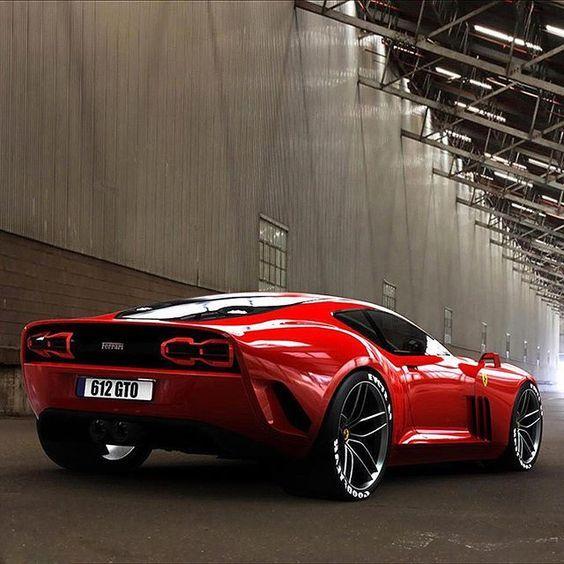 2017 Concept Voiture, ''2017 Ferrari 612 GTO '' Les