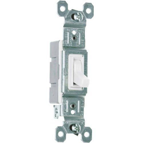 Legrand Pass Seymour 660wgcp Trademaster Single Pole Switch White 10 Pack With Images Light Switch Double Light Switch Light Switch Plates