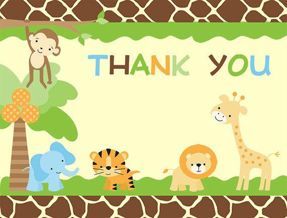 jungle, baby shower, invitations, safari animals, gender neutral,
