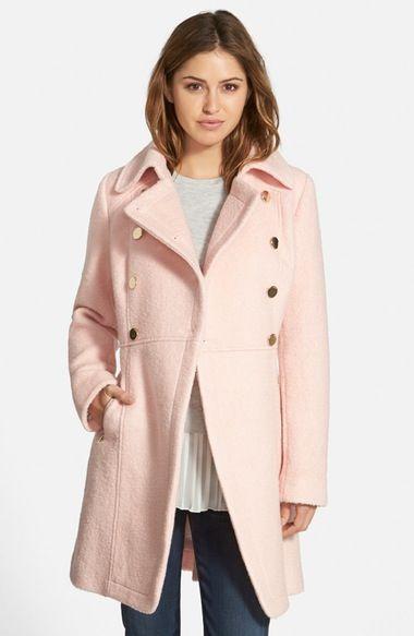 Lorelei gilmore s coat..GUESS Double Breasted Bouclé Cutaway Coat (Regular    Petite) available at  Nordstrom cca09b8c0de5