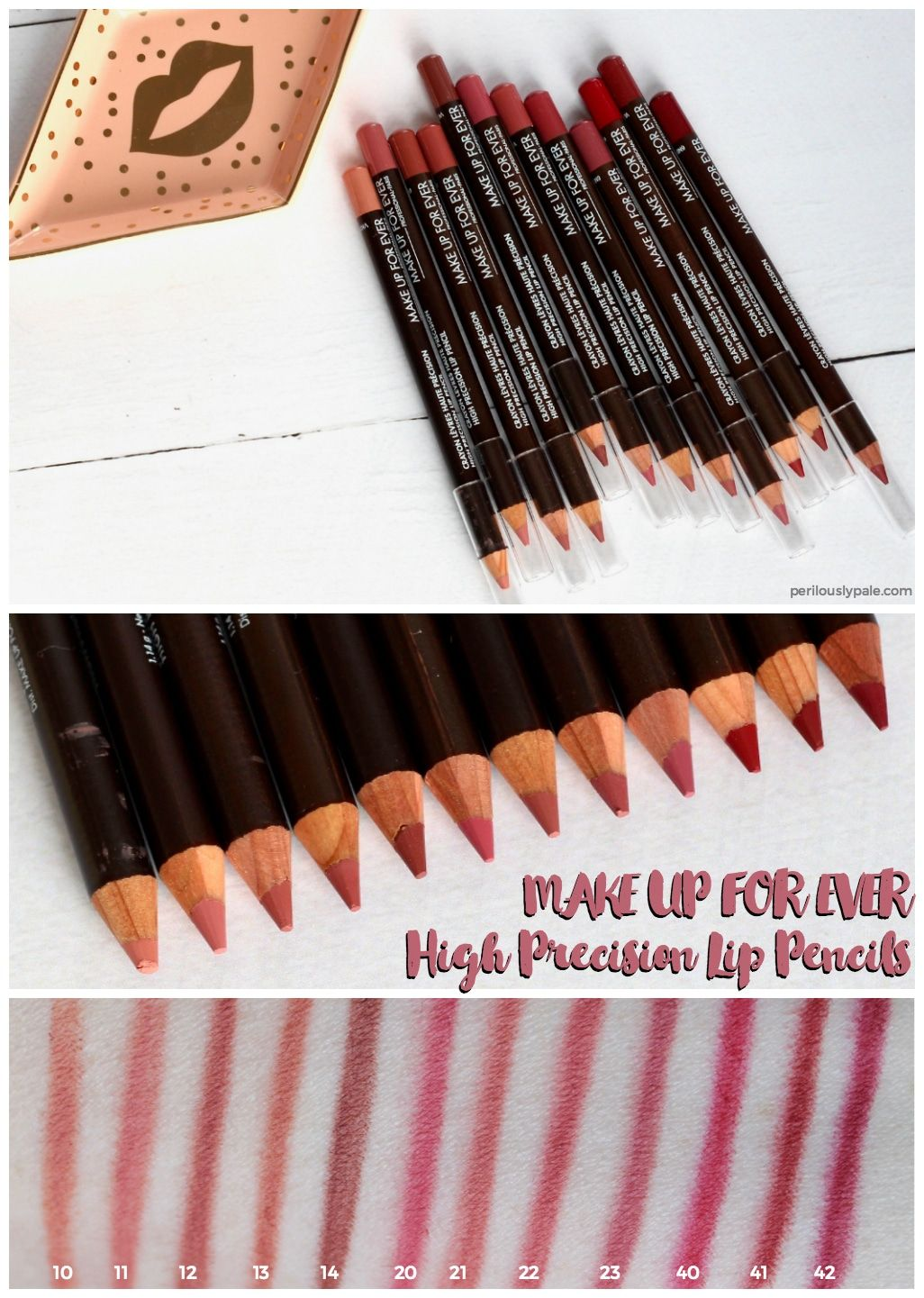 MAKE UP FOR EVER High Precision Lip Liners Review