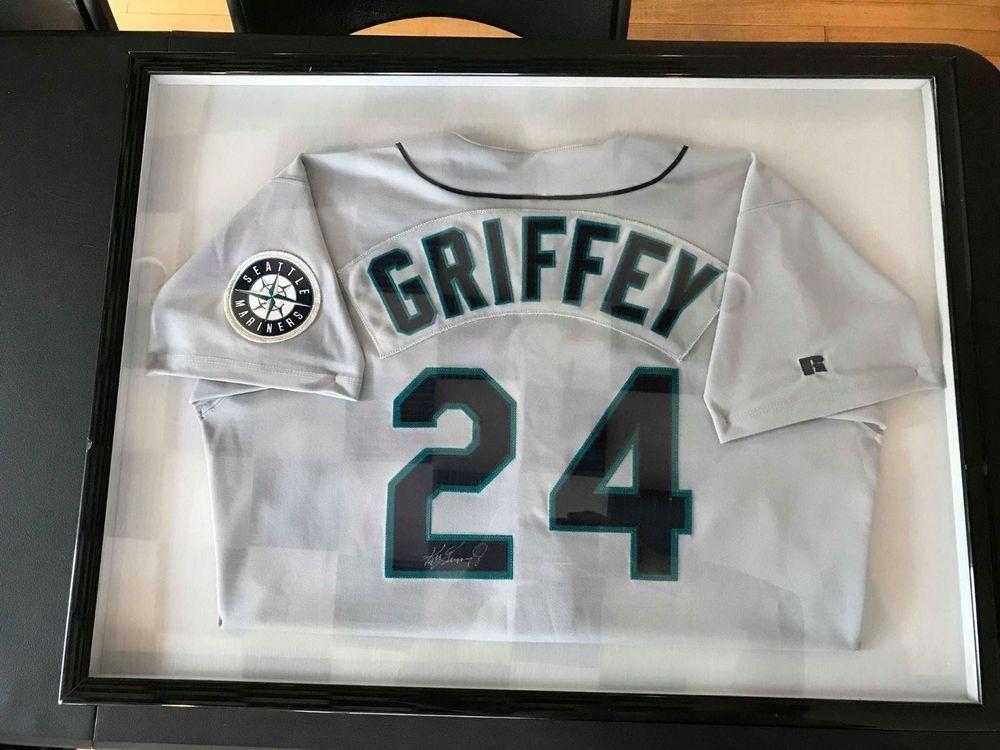 on sale 714b8 e1598 Ken Griffey Jr. Autographed Jersey (eBay Link)   Autographs ...