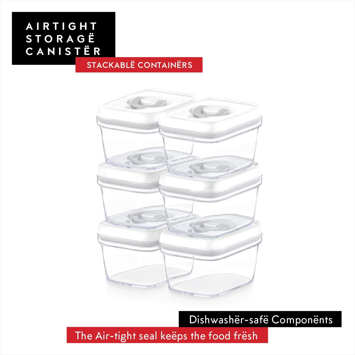 DWÃ‹LLZA KITCHEN Airtight Food Storage Containers with