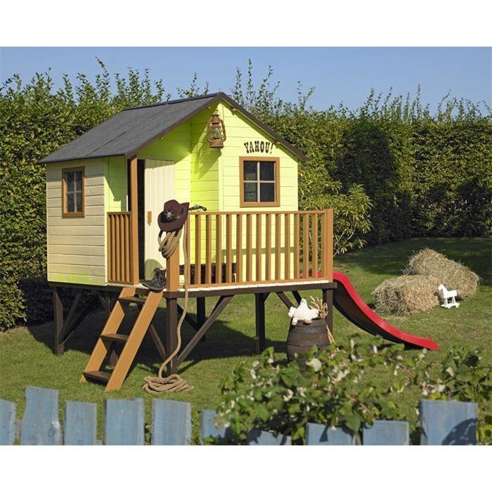 Cabane en bois sur pilotis louis cabanes en bois achat for Ma cabane en bois